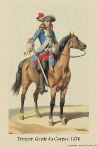 The Trooper or Cavalier, is a man who makes a profession of serving on horseback.